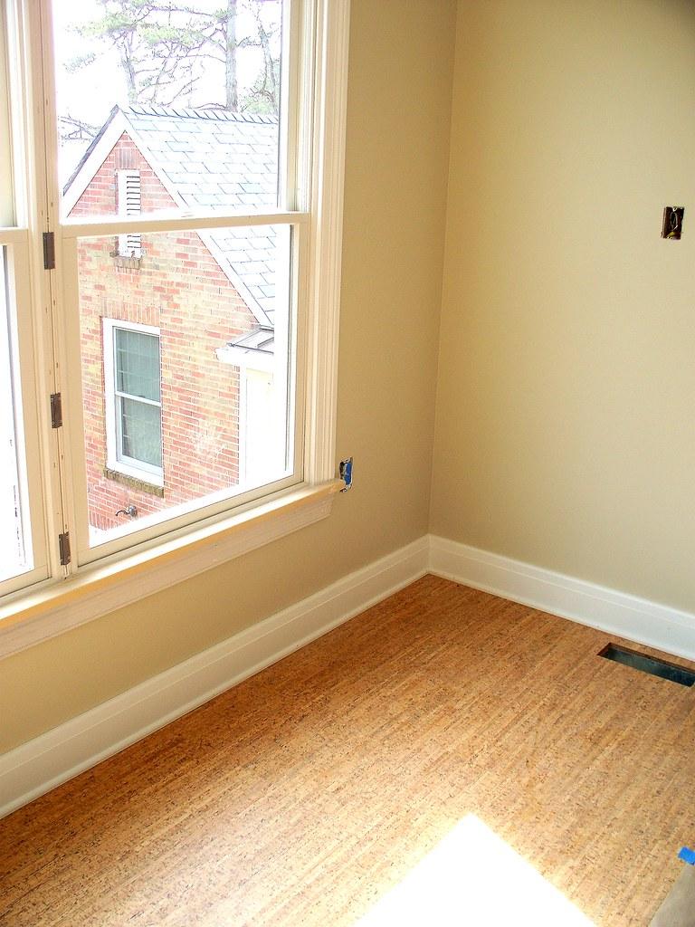 Bonus Room Cork Flooring