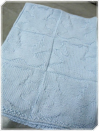 Knitting Pattern For Teddy Bear Baby Blanket : My Free time: Teddy Bear Blanket