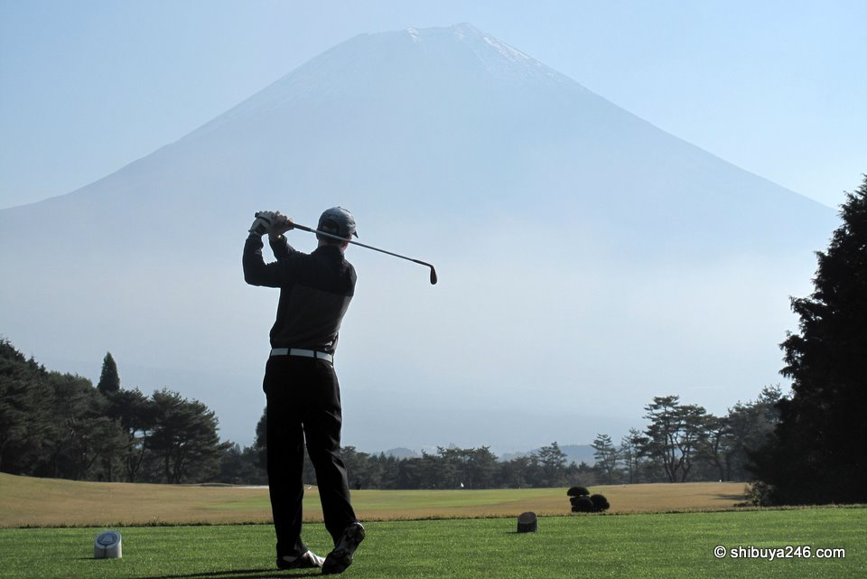 Golf at Mt Fuji