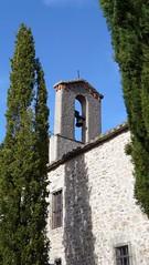 Clocher (brigeham34) Tags: door statue rando chapel belltower porte languedocroussillon clocher hrault artroman hrpian chapellenotredamedecapimont