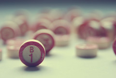 Bingo! You are THE ONE! :) {Explored!} (AngieNan) Tags: game vintage one 1 retro uno conceptual bingo theone
