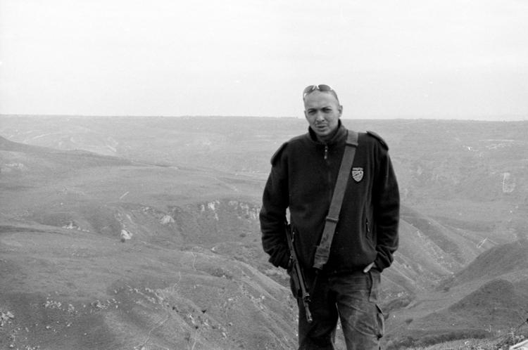 Myself (on the Syrian border)