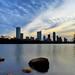 Dawn breaks in Austin