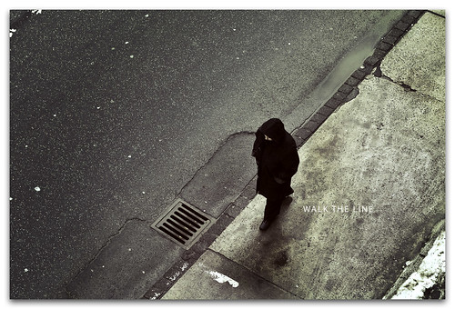18/365: WALK THE LINE