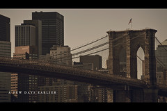 Transition Sequence (- Loomax -) Tags: urban newyork skyline buildings skyscrapers manhattan brooklynbridge se7en sequence cinematic 169 frontpage warmcolors