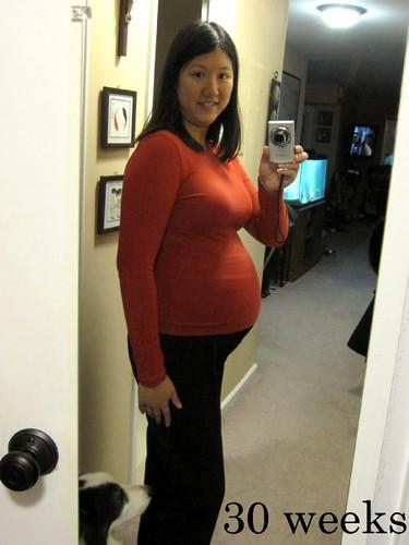 30 weeks pregnant. 30 weeks pregnant.