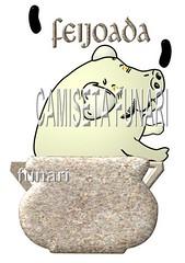 desenho foto feijoada porco panela barro feijao