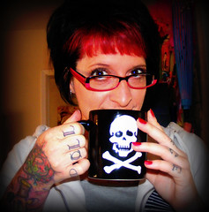 Caffeinate or Die by Tickled Pink(Julie)