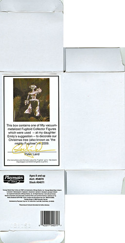 "Teenage Mutant Ninja Turtles ""Fugitoid"" Collector Figure ;from Peter Laird's Fugitree { Signed by Laird }  .. box i (( 2009 ))"