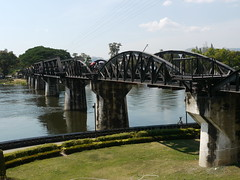Bridge on the Kwai river (olaszmelo) Tags: river thailand kwai kwae
