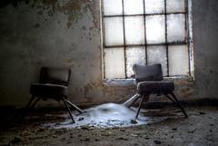 Apparantely Masons liked to kick back and chill (IAmTheSoundman) Tags: winter ohio urban abandoned window temple jake chairs exploring cleveland masonic jakob hdr barshick