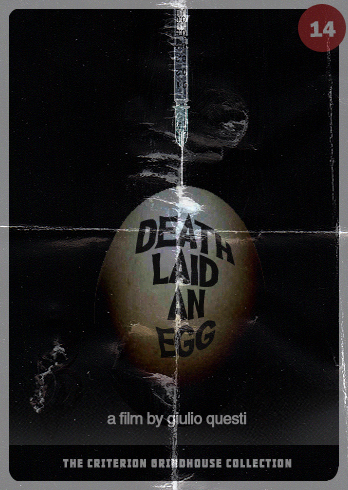 Criterion Grindhouse #14: Death Laid an Egg
