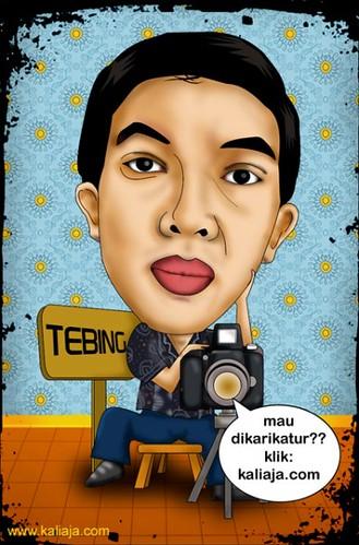 karikatur fotografer