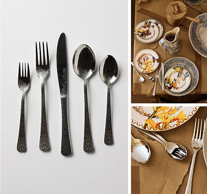 Dandelion Greens Cutlery from Anthropologie