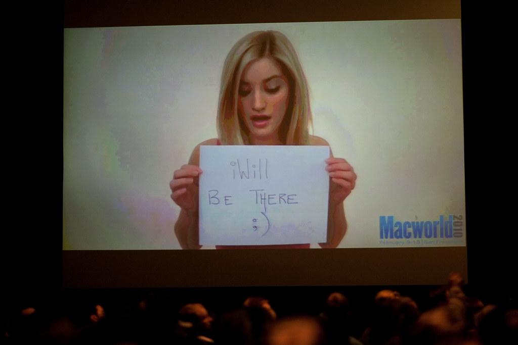 MacWorld 2010 iPad panel