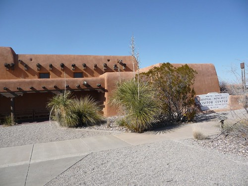 white sands visitor center.