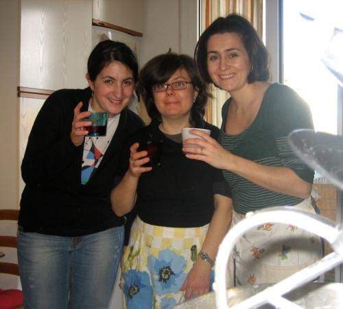 Tre pasticcione in cucina