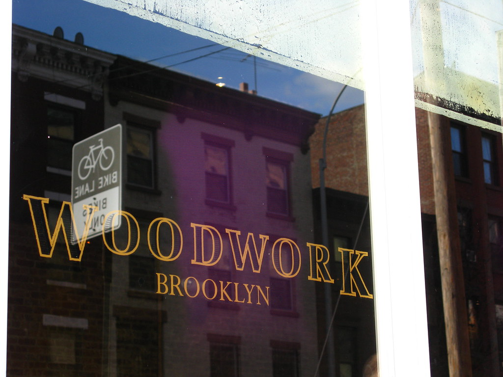 Woodwork, Bar Vanderbilt Ave window
