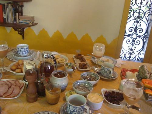 Café da manhã do Alcino