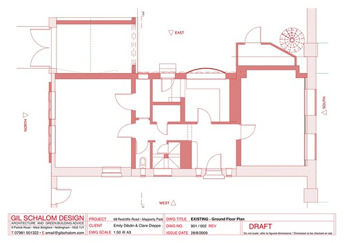 002 EXISTING - Ground Floor Plan