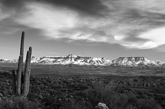 Close to Mammoth, Arizona (John Falkenstine) Tags: travel arizona usa southwest art film landscape cowboy unitedstates tucson kunst fineart scenic lifestyle western blackandwhitephotography thewest arizonalandscapephotographs