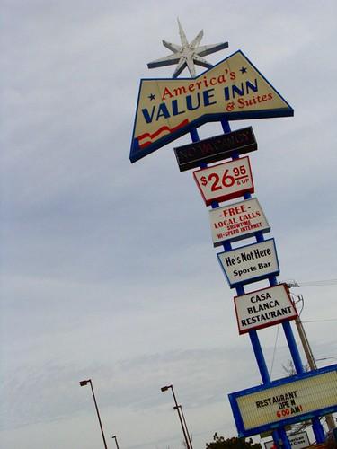 America's Value Inn on Route 66