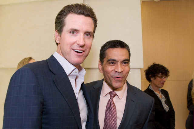 Mayor Gavin Newsom, Daniel Diaz