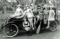 Mark Sennett Girls (RetroGrafix) Tags: oldhollywood silentfilms marksennett