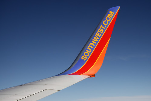 Southwest Winglet in Flight