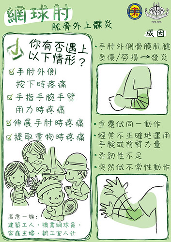 AMSAHK Occupational Health Campaign 2008 poster4