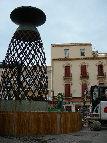 Demolición Plaza Comandante Benitez