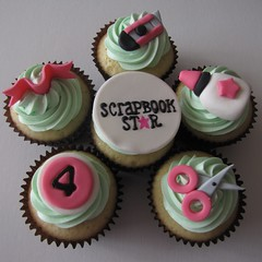 Scrapbooking Cupcakes! by clevercupcakes