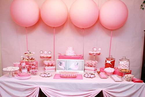 bella grace party design      pink birthday party theme      http://www.frostedevents.com