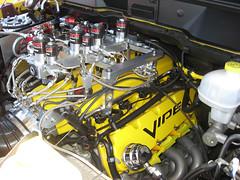 Viper V-10 in Dodge Ram SRT-10 (twm1340) Tags: show arizona hot car yellow truck pickup az cottonwood dodge rod custom ram viper meet no2 srt10 oxide nitrous 1000hp