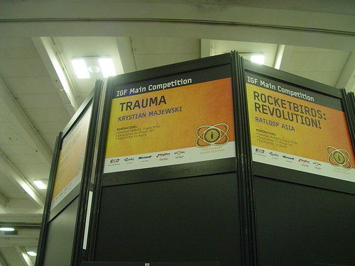 TRAUMA IGF Booth Caption