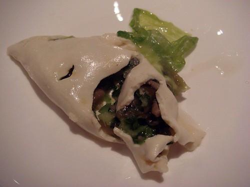 Beancurd dumpling