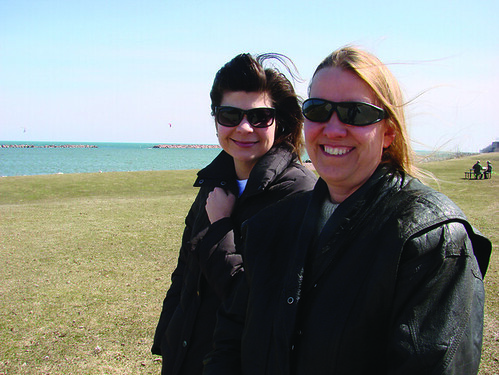 Barb Koenig and Janet Kujawa