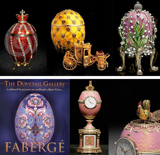 History 101 the faberge egg - Russian easter eggs history ...