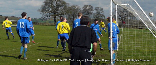 Cliffe FC vs Stillington 3Apr10