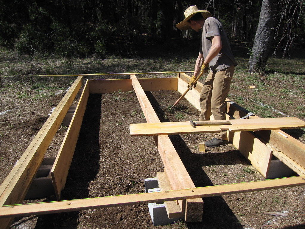 floor for the yurt