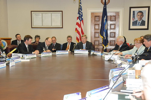 Agriculture Secretary Tom Vilsack stressed the importance of the committee's work, adding that saving the dairy industry is part of the survival and revival of rural America.