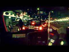P1030865c (UbiMaXx) Tags: street light urban color car japan night movie lumix interesting kyoto like panasonic frame cinematic maxx ts1 ft1 ubimaxx