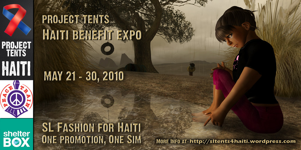Project Tents Haiti Benefit Expo