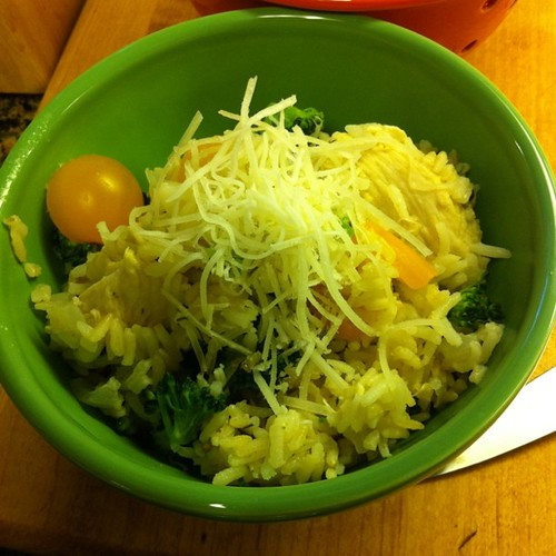 Lemon Chicken w/ Broccoli & Peppers