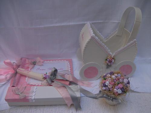 Cestas Decoradas para Lembranças de Casamento Ou baptizado - a ...