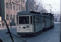 Tramway Leipzig 1971 (erik105) Tags: 1971 leipzig rda ddr tramway gdr strassenbahn tdr sparvag
