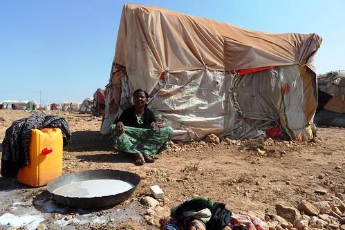 Mohamed Mooge IDP settlement