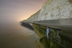 Greenwich Sleep Time (Alex Bamford) Tags: sea brighton greenwich steps marker pajamas pyjamas meridian peacehaven sleepwalking alexbamford wwwalexbamfordcom alexbamfordcom