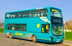St Asaph (Andrew Stopford) Tags: cx61cdf vdl db300 wright 2dl arriva cymrucoastliner stasaph
