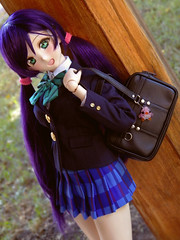 Date with her... - Nozomi Tojo (Dollymoe) Tags: nozomi lovelive love live dollfie dream anime doll dollfiedream toy toys photography girl school shoujo